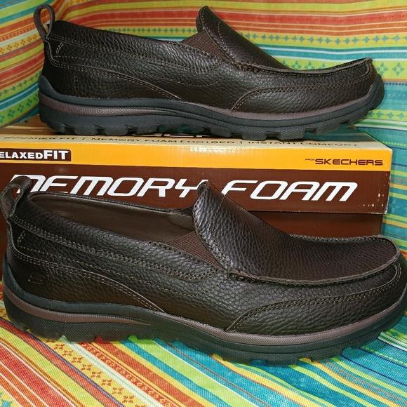 60edd4bcf11be1 Skechers Shoes | Nib Superior Gains Leather 95 | Poshmark